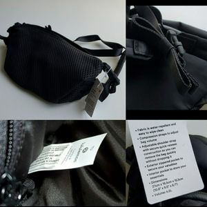 NEW NWT | LULULEMON | ALL HOURS BLACK BELT BAG